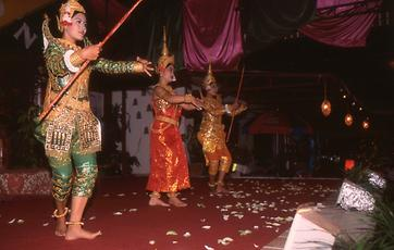 Depiction of Ramayana as dance drama