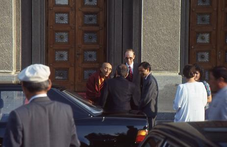 Bakula Rimpoche of Spituk as Indian ambasador in a diplomatic reception in the Mongolian capital Ulan Baatar