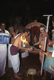 Also along the way, Minakshi receives offerings
