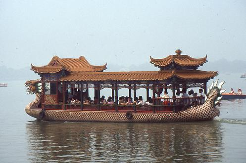 Ship on the Kunming-Lake