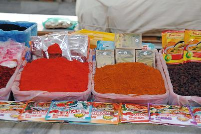 Paprika and curry powders